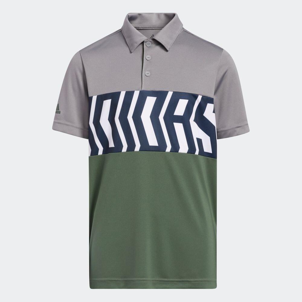 BOYS PRIMEGREEN カラーブロック 半袖シャツ / Print Colorblock Polo Shirt