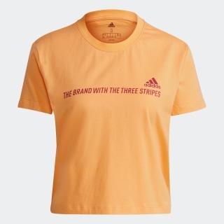 エッセンシャルズ グラディエント クロップド 半袖Tシャツ / Essentials Gradient Cropped Tee