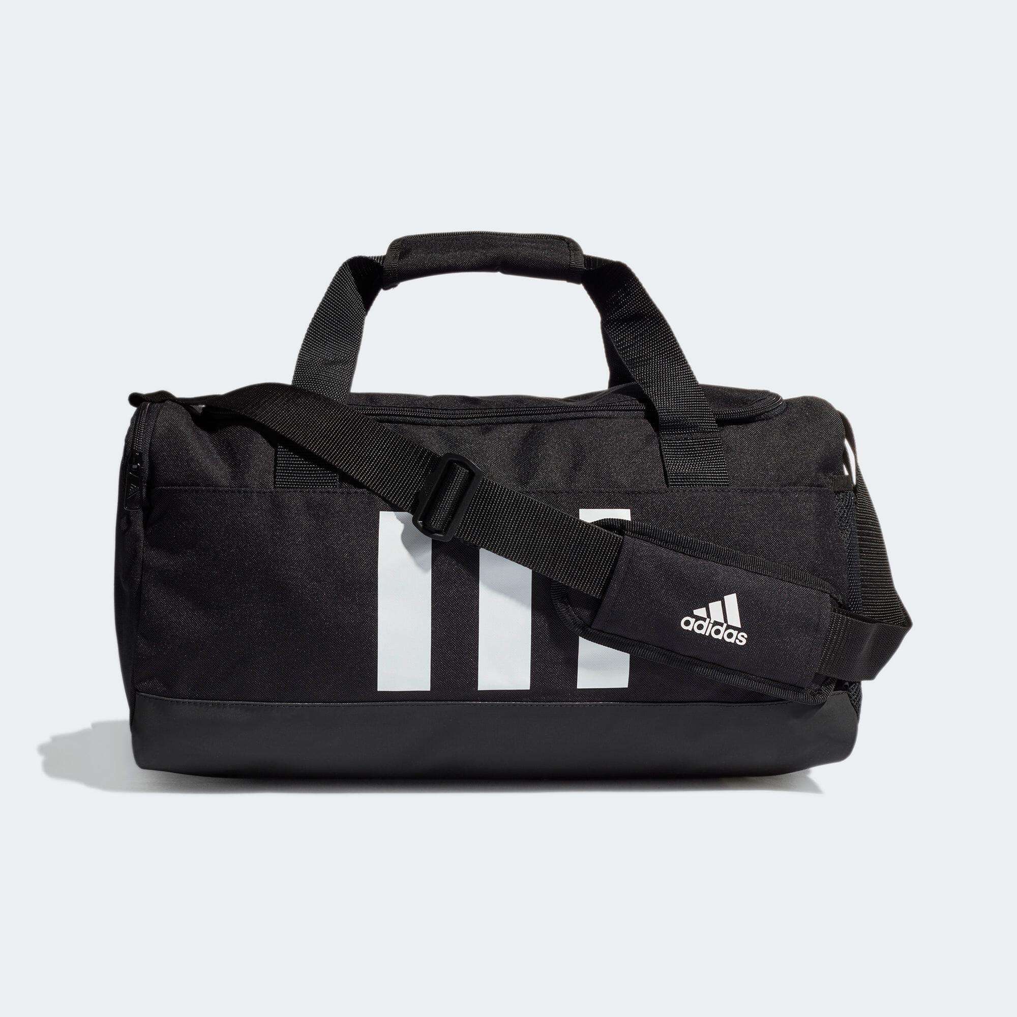 エッセンシャルズ 3ストライプス ダッフルバッグ(S)/ Essentials 3-Stripes Duffel Bag Small