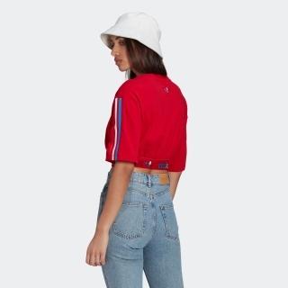アディカラー PRIMEBLUE トリコロール クロップド Tシャツ