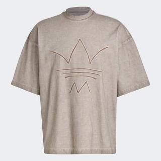 R.Y.V. オーバーサイズ アブストラクト トレフォイル 半袖Tシャツ