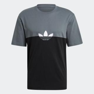 アディカラー スライスド トレフォイル ボクシー 半袖Tシャツ