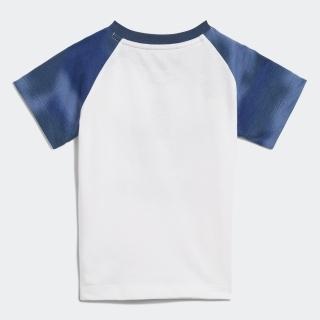 カモ柄プリント ショーツ&Tシャツ セットアップ