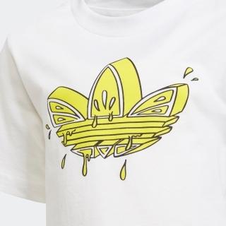 グラフィック トレフォイル ショーツ&Tシャツセット