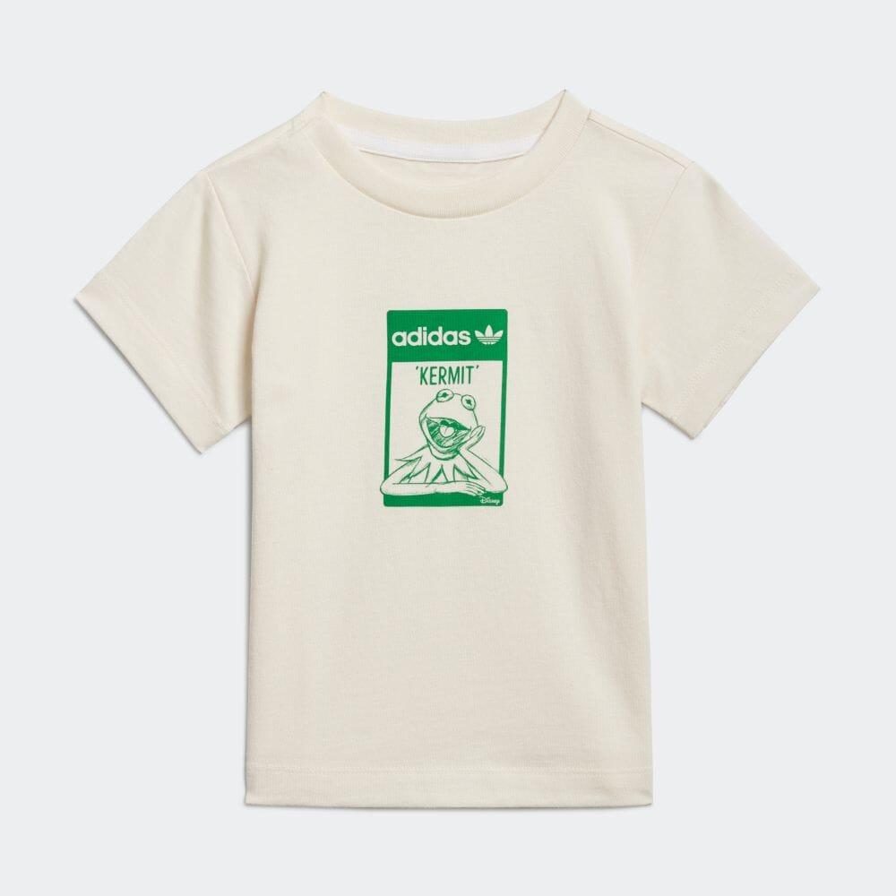ディズニー カーミット オーガニックコットン Tシャツ