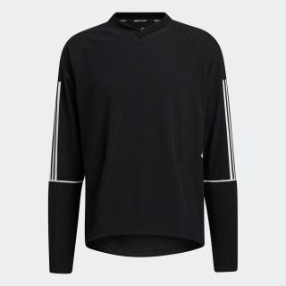 PLYR 3ストライプス ウインドブレーカー プルオーバー スウェットシャツ / PLYR 3-Stripes Windbreaker Pullover Sweatshirt
