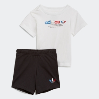 アディカラー ショーツ&Tシャツ セット