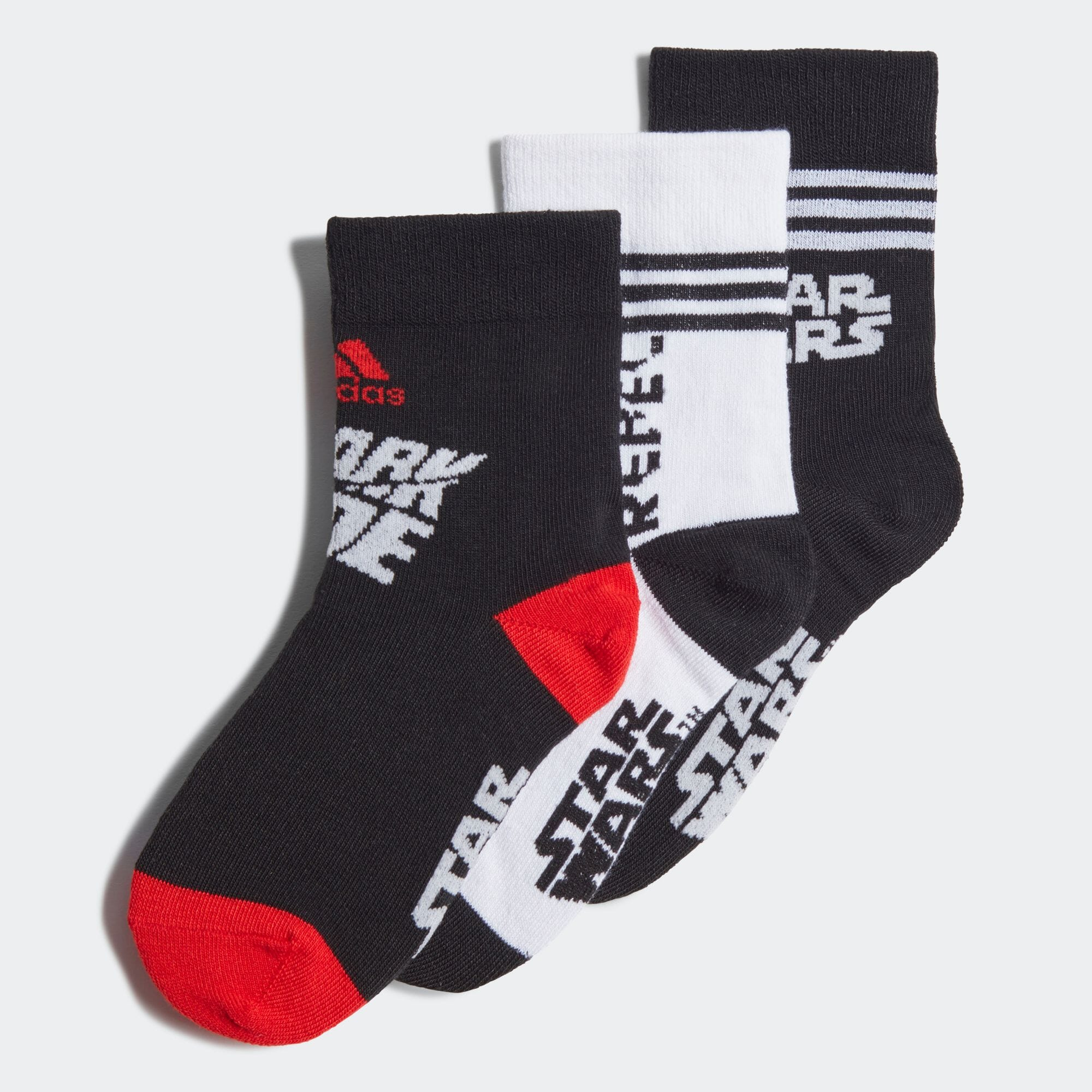 Star Wars クルーソックス3足組 / Star Wars Crew Socks 3 Pairs