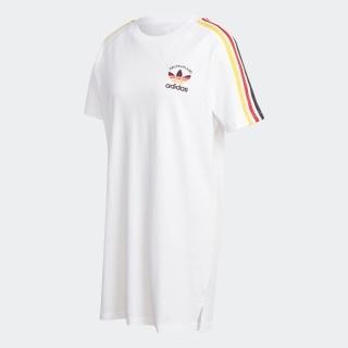 3ストライプ Tシャツ ワンピース