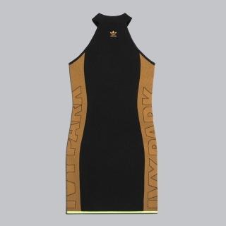 ニットロゴ ドレス