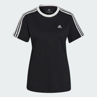 エッセンシャルズ スリーストライプス 半袖Tシャツ