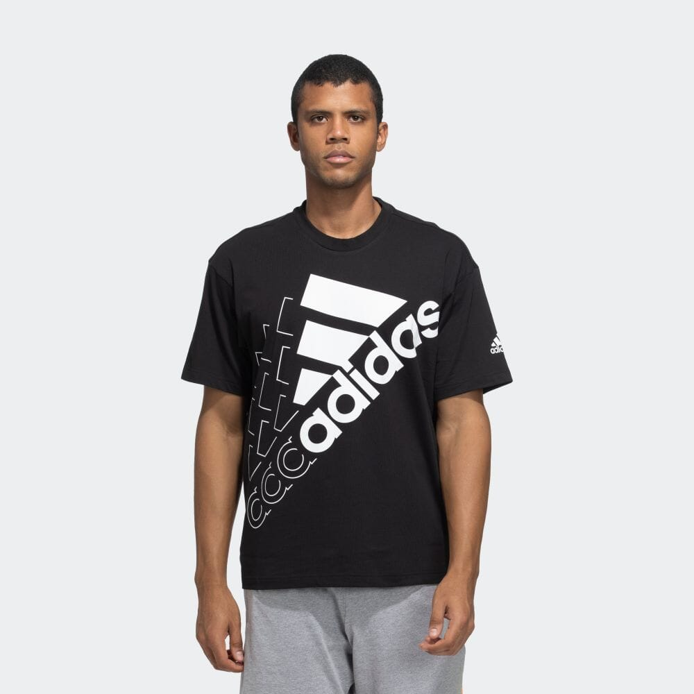 エッセンシャルズ ロゴ 半袖Tシャツ(ジェンダーニュートラル)