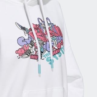 アトモス ピンク × ジェニー・カオリ スウェット プルオーバーパーカー