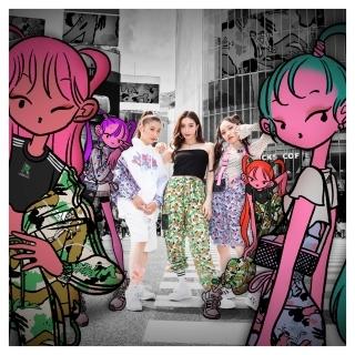 atmos pink x Jenny Kaori スウェット プルオーバーパーカー