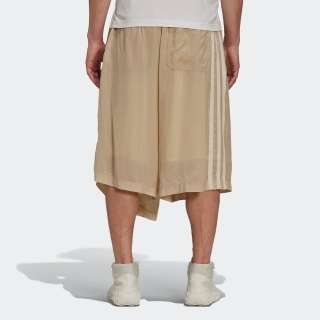 Y-3 CH3 Sanded Cupro Shorts
