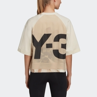 Y-3 CH3 Raw Jersey Graphic Short Sleeve Floral Tee