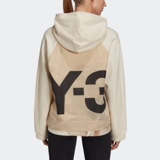 Y-3 CH3 Raw Terry Floral Hoodie