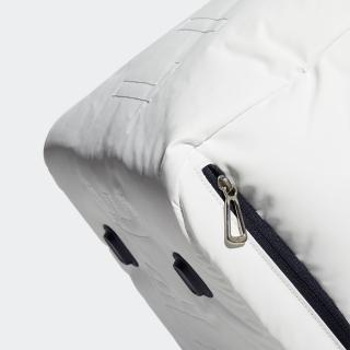 シルバーロゴ   リサイクル ダッフルバッグ