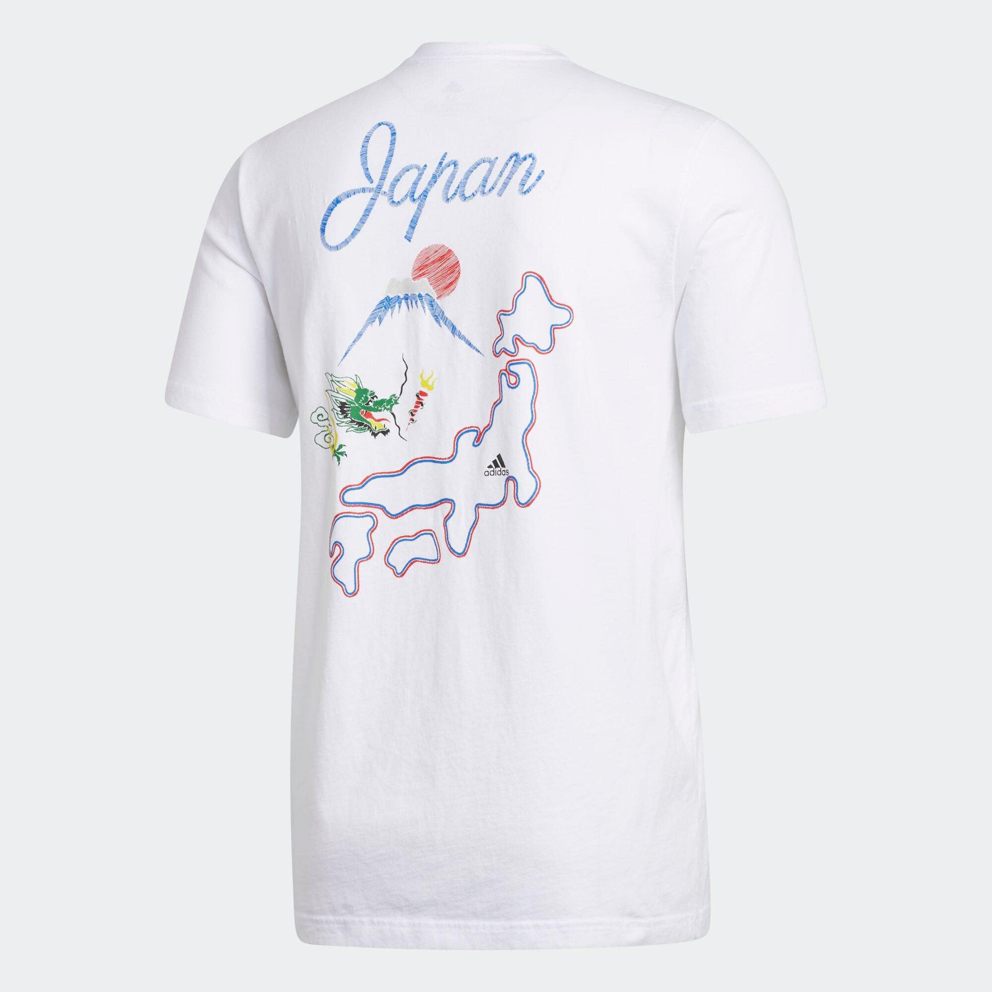 日本地図半袖Tシャツ / Japan Map Tee