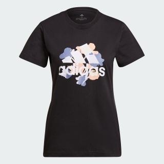 フローラル グラフィック 半袖Tシャツ