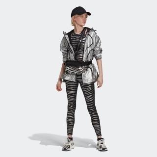 adidas by Stella McCartney トレーニング メタリックプリントタイツ