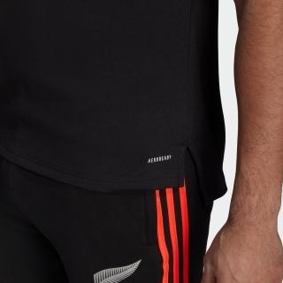 オールブラックス プライムブルー ラグビー ポロシャツ /  All Blacks Primeblue Rugby Polo Shirt