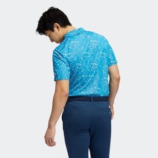 プライムブルー 半袖ジャカードシャツ