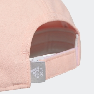 UVカット スリーストライプスエードキャップ