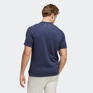 ADICROSS ヒートシールポケット 半袖モックネックシャツ