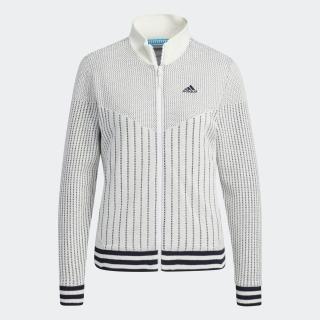 スリーストライプス 防風 長袖ライニングフルジップセーター