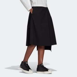 Y-3 CLASSIC REFINED WOOL STRETCH SKIRT