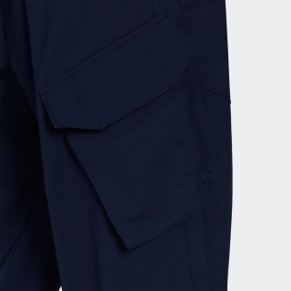 Y-3 CLASSIC REFINED WOOL STRETCH CARGO PANTS