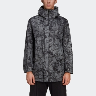 Y-3 DISTRESSED REFLECTIVE PARKA