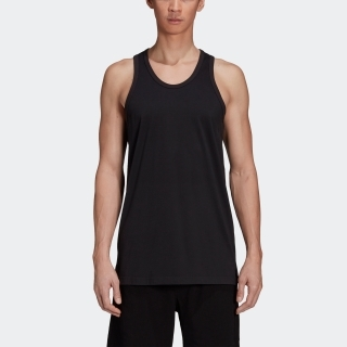 Y-3 Classic Offset Logo Tank Top