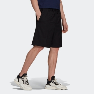 Y-3 CLASSIC REF WOOL STRETCH TAILORED SHORTS