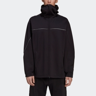 Y-3 CH1 KNIT SHELL FULL-ZIP HOODIE