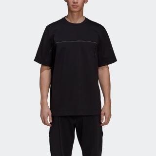 Y-3 CH1 KNIT SHELL SHORT SLEEVE TEE