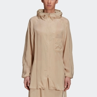 Y-3 CH3 Sanded Cupro Hooded Top