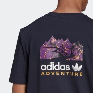 アディダス アドベンチャー フィルド マウンテン Tシャツ