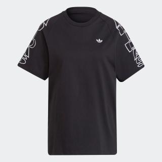 ルーズ アディダス レター Tシャツ