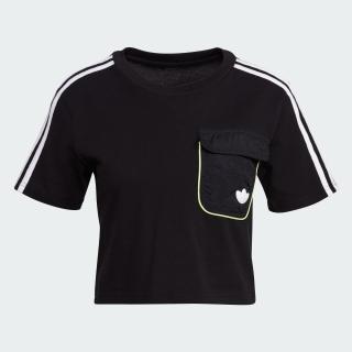 クロップドユーティリティ 半袖Tシャツ