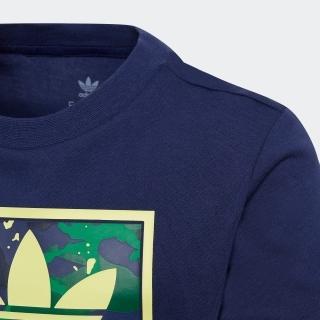 カモ プリント グラフィック 半袖Tシャツ