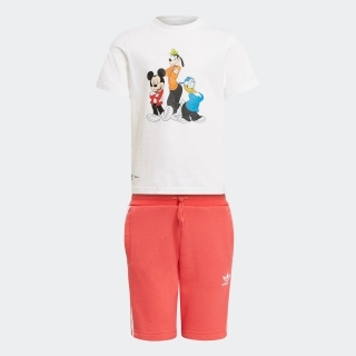 ディズニー ミッキー & フレンズ ショーツ & Tシャツ セットアップ