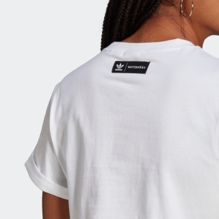 マリメッコ トレフォイル インフィル クロップド Tシャツ