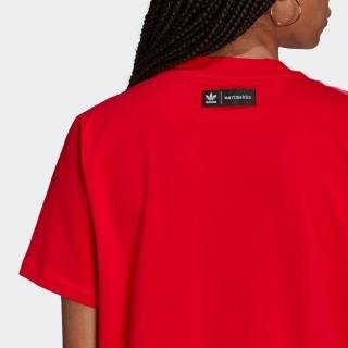 マリメッコ トレフォイル プリント インフィル Tシャツ ワンピース