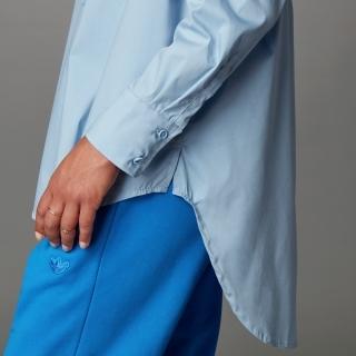 Blue Version ファッション エッセンシャルズ オーバーサイズシャツ