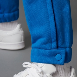 Blue Version ファッション エッセンシャルズ サイドスリット トラックパンツ
