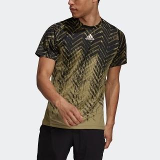 テニス プライムブルー フリーリフト プリント半袖Tシャツ