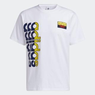 ロゴ プレイ バッジTシャツ