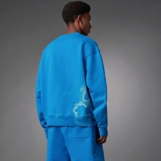Blue Version タイダイ クルースウェット